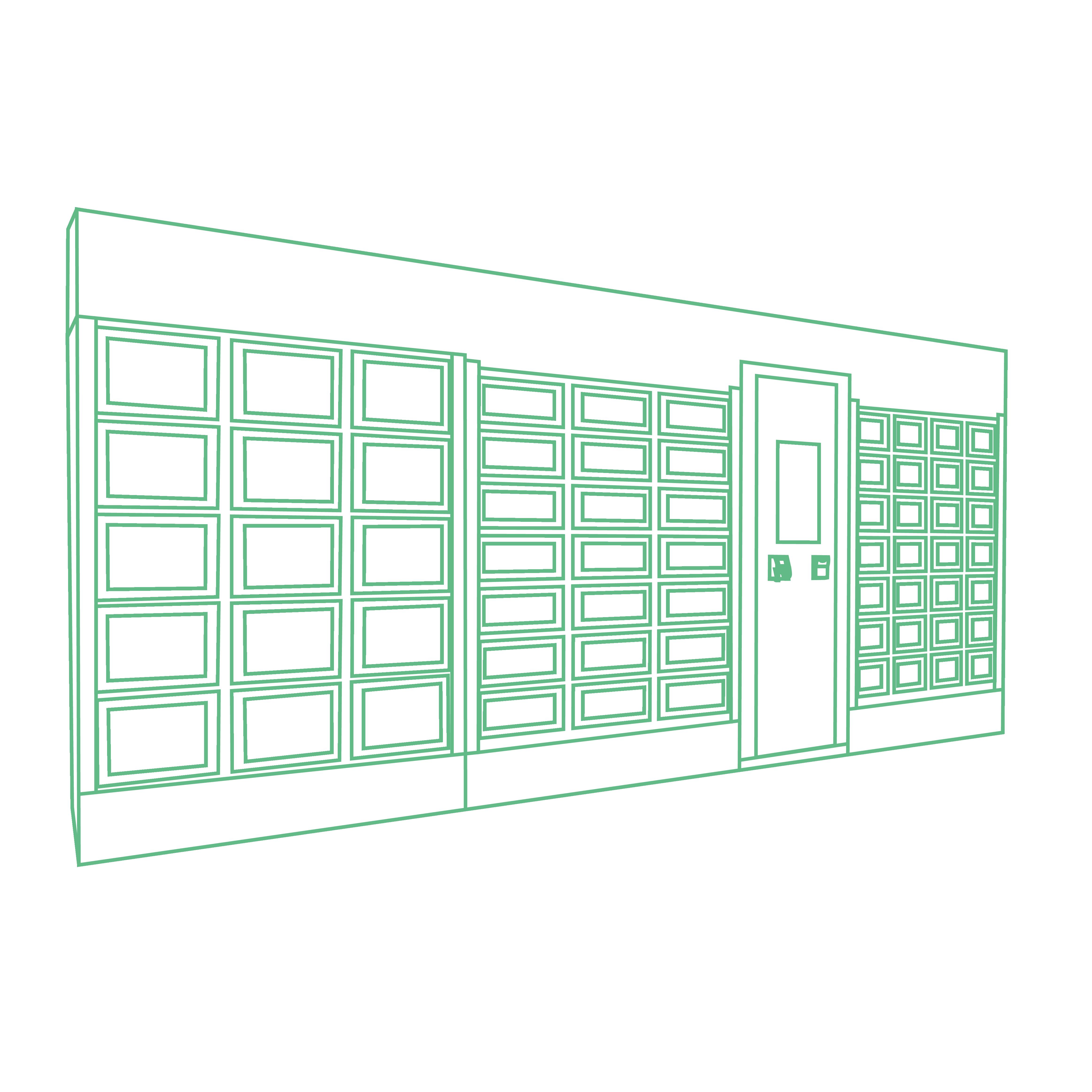 Personalización mediante una cobertura completa de una máquina expendedora Le Casier Français